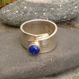 flow ring from Saucy Jewelry
