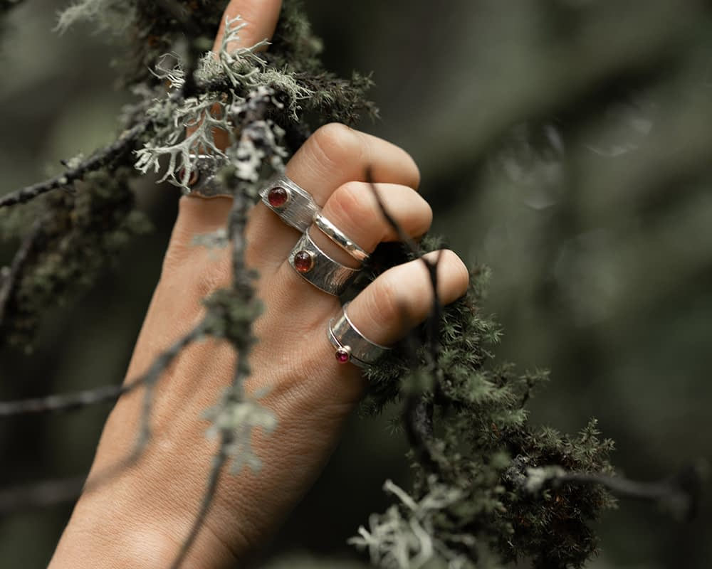 Saucy Jewelry | tourmaline rings