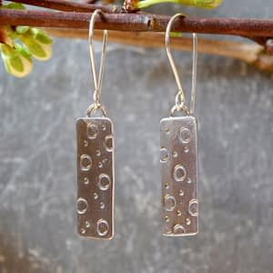 simplicity polka dots earrings