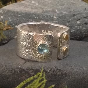 Saucy Jewelry - lookbook Opening ring