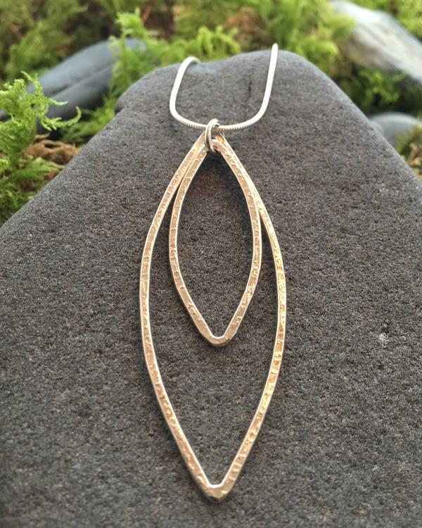 flowering goddess pendant