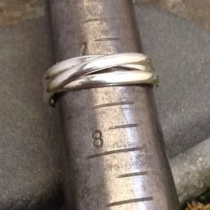 Saucy Jewelry's rolling ring - narrow - featured image